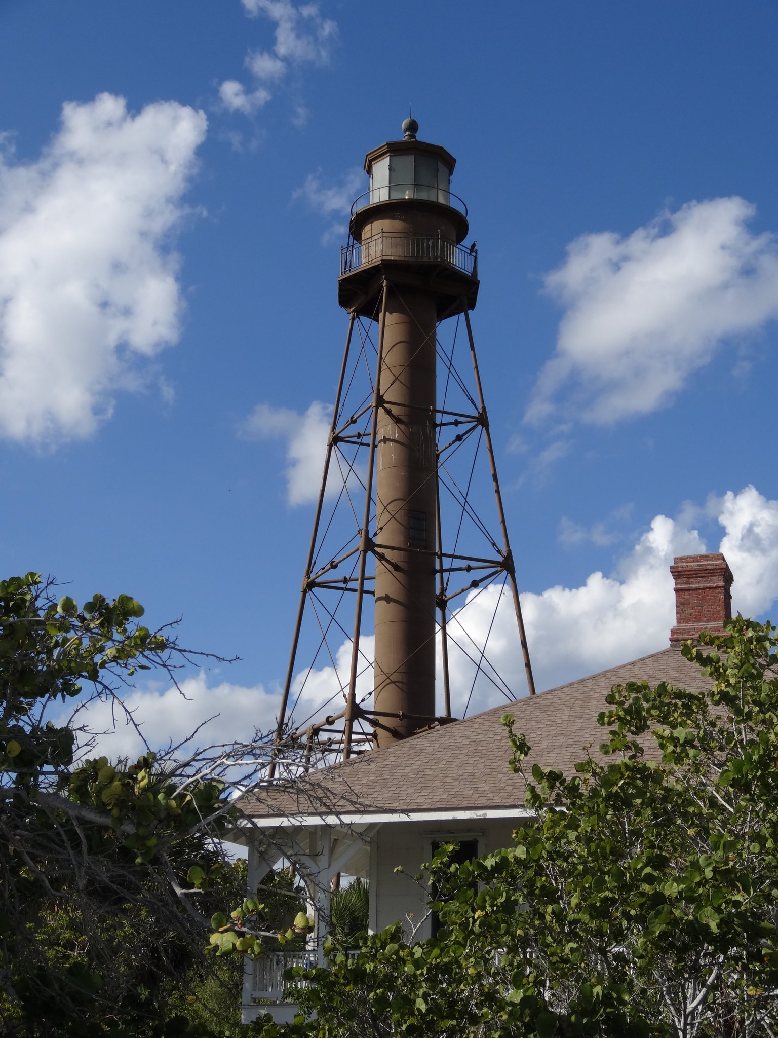 The Sanibel Island Light Or Point Ybel Light Is The First Lighthouse On  Floridau0027s Gulf Coast North Of Key West And The Dry Tortugas.
